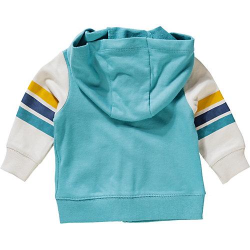 Комплект carter's: толстовка, боди и джинсы - синий от carter`s
