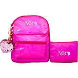 Ранец Nomi «Фламинго» с косметичкой, 22х26х9 см