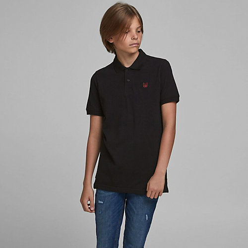 Поло Jack & Jones Junior - черный от JACK & JONES Junior
