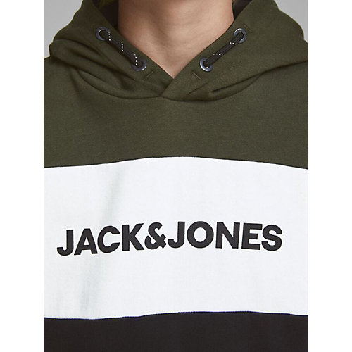 Худи Jack & Jones Junior - темно-зеленый от JACK & JONES Junior