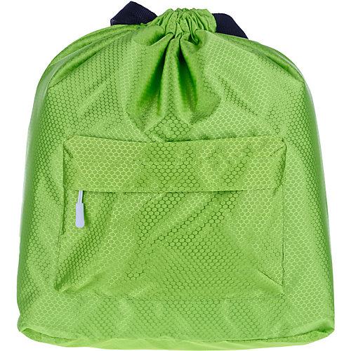Рюкзак-мешок ArtSpace, 41х44 см - зеленый от ArtSpace