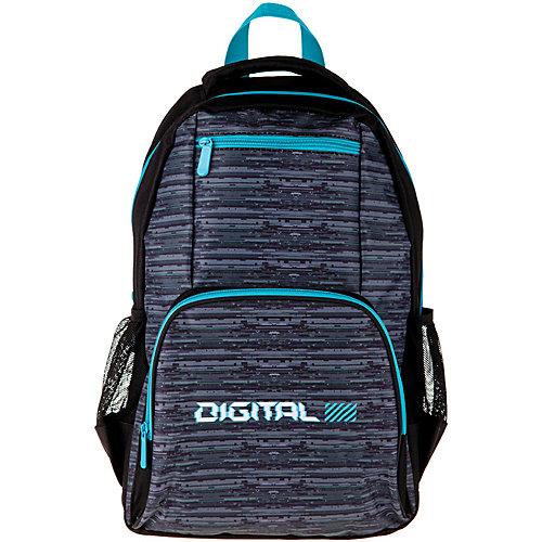 Рюкзак ArtSpace School Digital, 44х31х16 см - разноцветный от ArtSpace