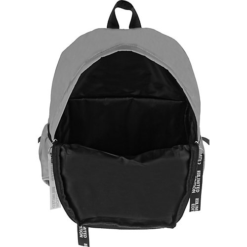 Рюкзак ArtSpace Style, 39х29х13 см - светло-серый от ArtSpace