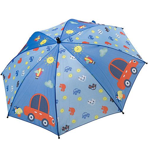 "Зонт Bondibon Машинки, 19"" - разноцветный от Bondibon"