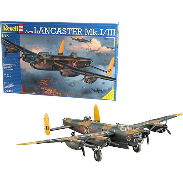 Самолет (1942г.,Великобритания) Avro Lancaster Mk. I/II, 1:72