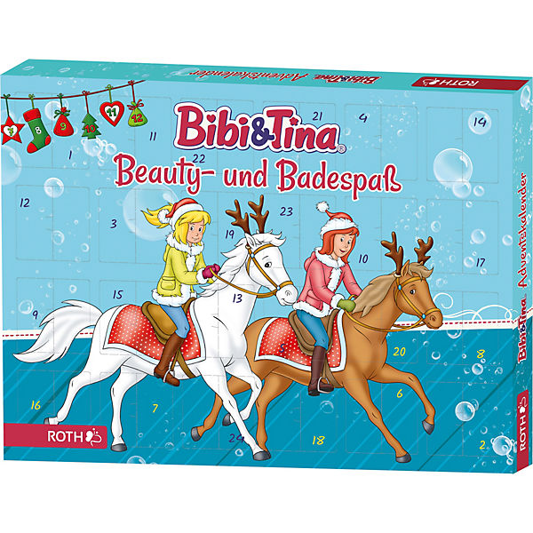 Bibi&Tina Adventskalender Beauty- und Badespaß