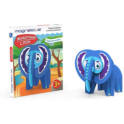 Игрушка сборная Magneticus Слон от Magneticus