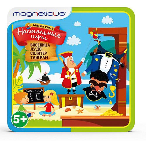 Магнитные настольные игры Magneticus 4-в-1 от Magneticus