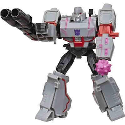 Transformers Bumblebee Cyberverse Adventures Action Attackers Warrior-Klasse Megatron Action-Figur, Fusion Mace Attacke, 13,5 cm