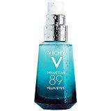 Восстанавливающий и укрепляющий уход для кожи вокруг глаз Vichy Mineral 89, 15 мл