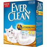 Наполнитель для кошачьих туалетов Ever Clean LitterFree Paws комкующийся, 10 л