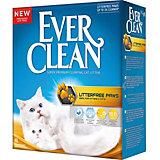 Наполнитель для кошачьих туалетов Ever Clean LitterFree Paws комкующийся, 6 л