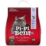 Наполнитель для кошачьих туалетов Pi-Pi Bent Нежный прованс комкующийся, 5 кг