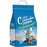 Наполнитель для кошачьих туалетов Счастливые Лапки комкующийся, 3 кг