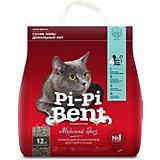 Наполнитель для кошачьих туалетов Pi-Pi Bent Морской бриз комкующийся, 5 кг