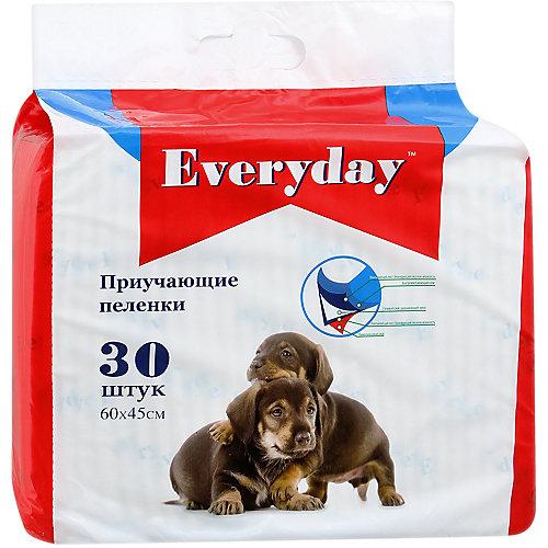 Впитывающие пелёнки Everyday для животных 30 шт, 60х45 см