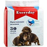 Впитывающие пелёнки Everyday для животных 30 шт, 60х60 см