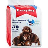 Впитывающие пелёнки Everyday для животных 30 шт, 60х90 см