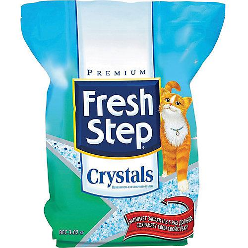 Наполнитель для кошачьих туалетов Fresh Step Crystals впитывающий, 3,62 кг
