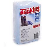 Впитывающие пелёнки Napkins для собак 10 шт, 60х40 см