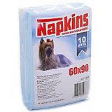 Впитывающие пелёнки Napkins для собак 10 шт, 60х90 см