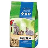 Наполнитель для кошачьих туалетов Cat`s Best Universal древесный, 10 л/5,5 кг