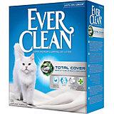 Наполнитель для кошачьих туалетов Ever Clean Total Cover комкующийся, 10 л