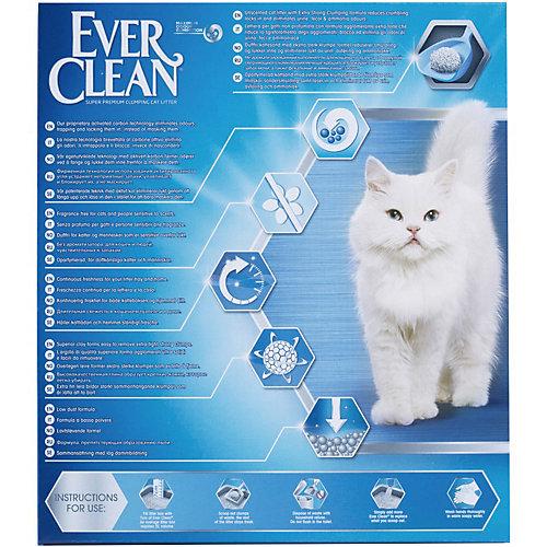 Наполнитель для кошачьих туалетов Ever Clean Extra Strong Clumpin Unscented комкующийся, 6 л