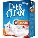 Наполнитель для кошачьих туалетов Ever Clean Fast Acting комкующийся, 10 л
