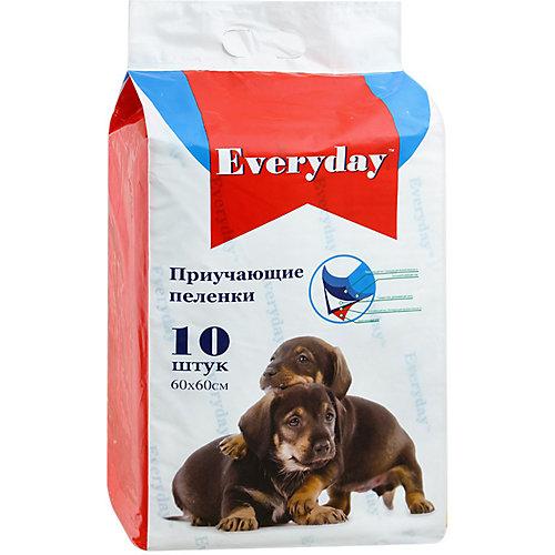 Впитывающие пелёнки Everyday для животных 10 шт, 60х60 см