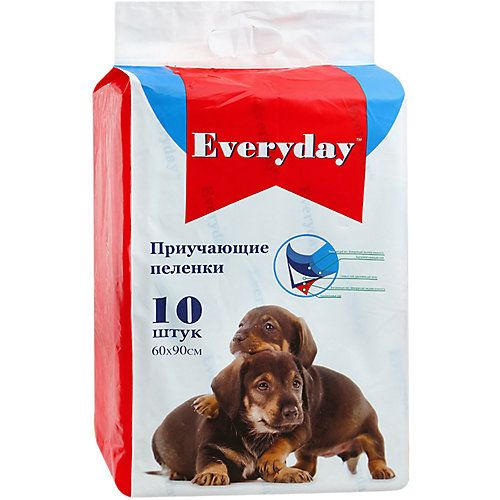 Впитывающие пелёнки Everyday для животных 10 шт, 60х90 см