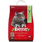 Наполнитель для кошачьих туалетов Pi-Pi Bent Сенсация свежести комкующийся, 10 кг