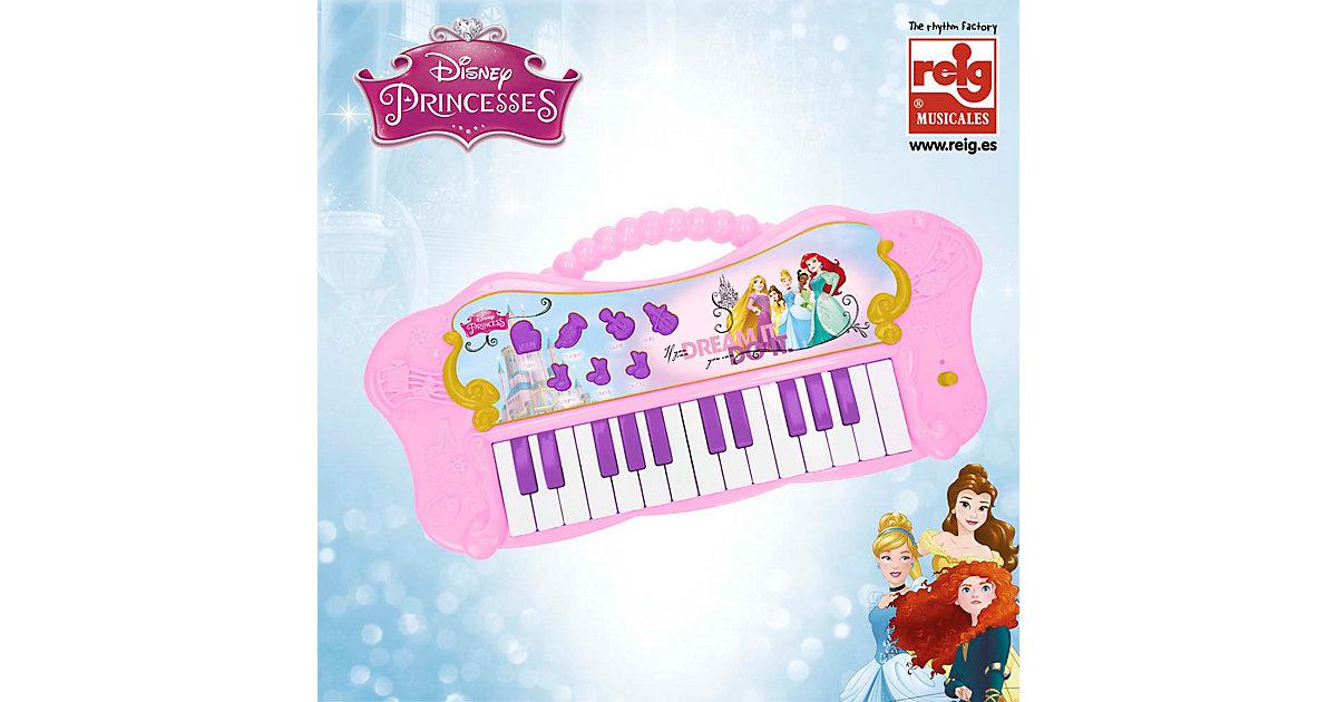 Disney Prinzessinnen Piano, 25 Tasten weiß/beige