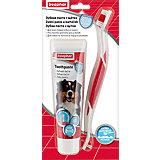 Зубная паста и щётка Beaphar Toothpaste для собак и кошек, 100 г