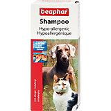 Шампунь противоаллергенный Beaphar Hypo-allergenic для собак и кошек, 200 мл