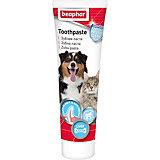 Зубная паста Beaphar Dog-A-Dent со вкусом печени для собак и кошек, 100 г