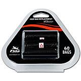 Запасные мешочки на рулетку Fida, под отходы для собак, 60 штук