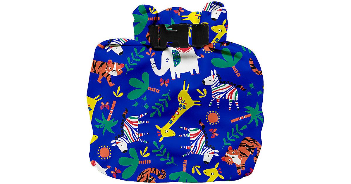 Windeltasche, wasserdicht, Safari Party Blau dunkelblau