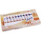 Краски масляные ЗХК Ладога, 10 цветов