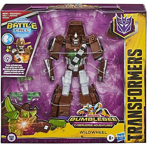 """Трансформер Transformers """"Кибервселенная Класс Истребители"""" Вайлдвил, 14 см от Hasbro"""