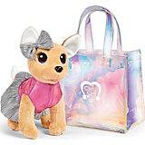 Мягкая игрушка Simba Chi-Chi Love Собачка в сумочке, 20 см