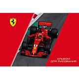 Альбом для рисования Полиграф Принт Ferrari, 40 листов