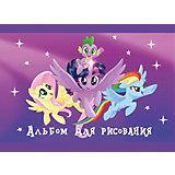 Альбом для рисования Полиграф Принт My Little Pony, 40 листов