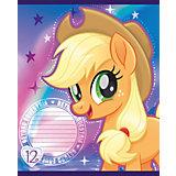 Тетрадь Полиграф Принт My Little Pony, 12 листов