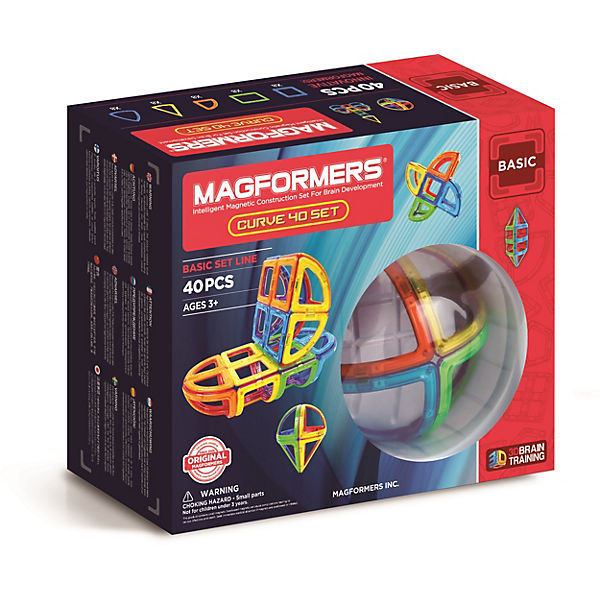 Magformers Curve Set 40 Teile