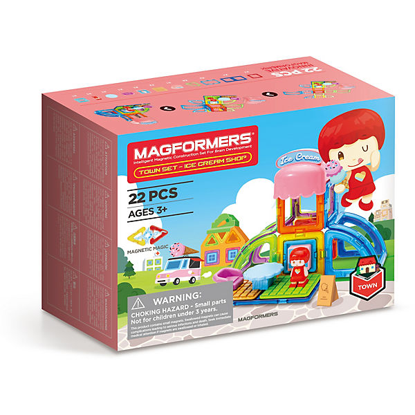 Magformers Town Set - Ice Cream