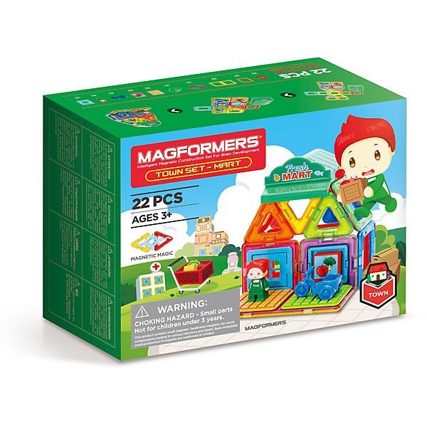 Magformers Town Set - Mart