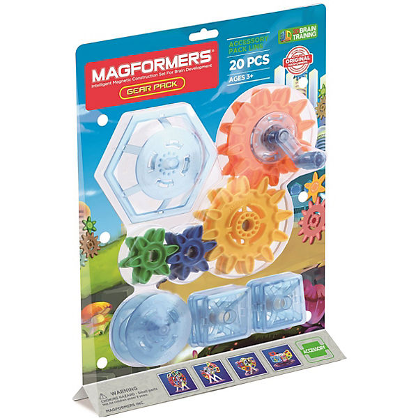 Magformers Gear Pack 20 Teile