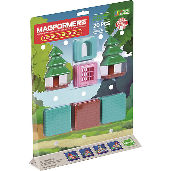Magformers House Tree Acc. 20 Teile