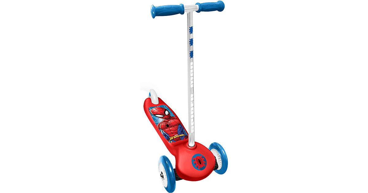 Steering Scooter Spider-Man blau